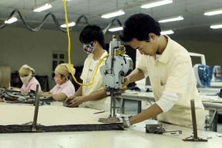 Xưởng cắt vải