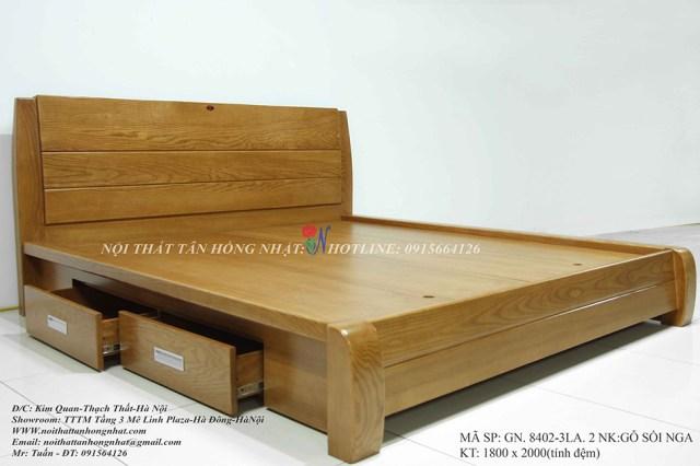 Giường gỗ