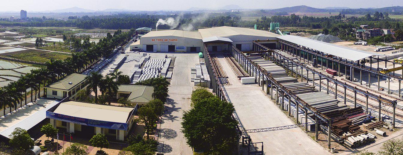 Nhà máy bê tông Hà Thanh - Vĩnh Phúc
