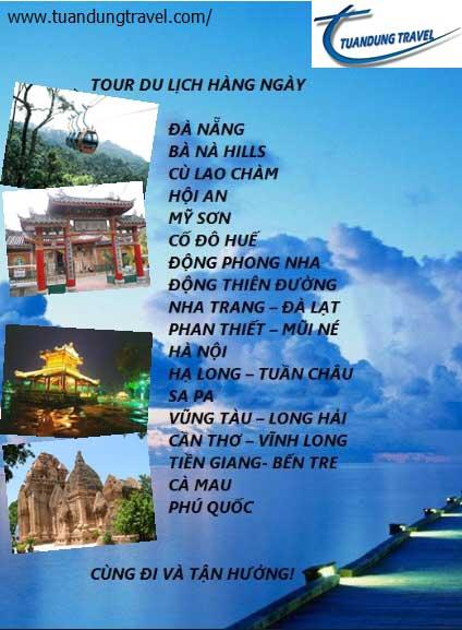 Tour du lịch trong nước
