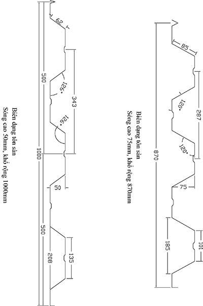 Bản vẽ Deck 50 -75
