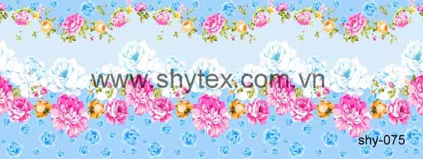Vải nội thất in bông
