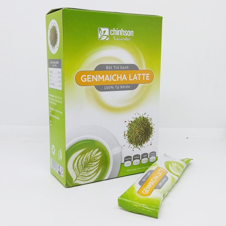 Bột trà Genmaicha Latte