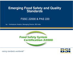 ISO 22000:2008 do BSI Anh Quốc cấp