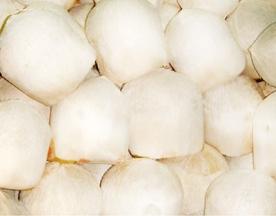 Dừa tươi ngọt vỏ