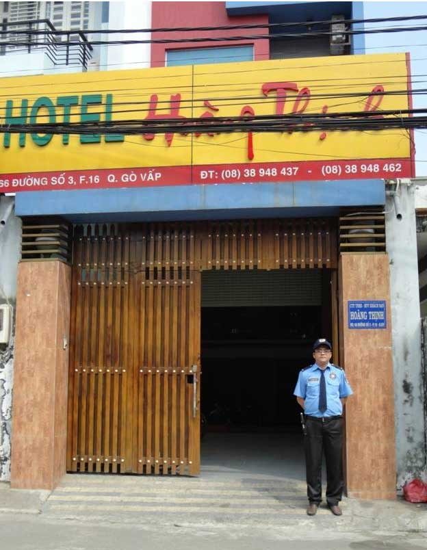 Bảo vệ khách sạn