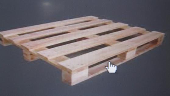 Pallet hai mặt bốn hướng nâng