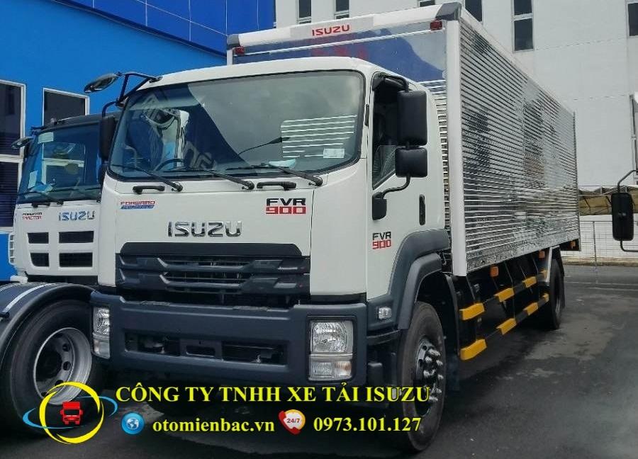 Xe tải ISUZU 9 tấn thùng kín FVR34SE4