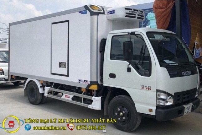 Xe tải nhỏ ISUZU thùng đông lạnh
