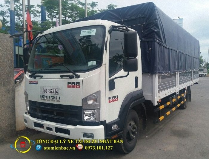 Xe  tải ISUZU 6,5 tấn thùng bạt