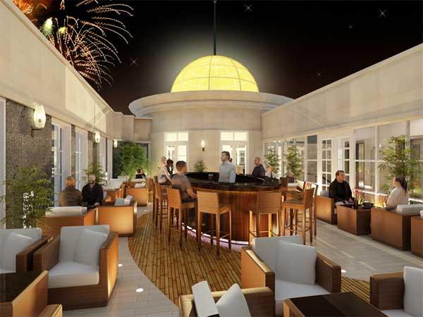 Cafe bar khách sạn Sanouva