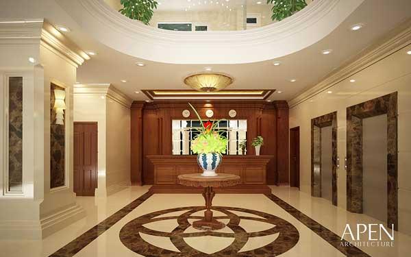 Đại sảnh khách sạn Royal
