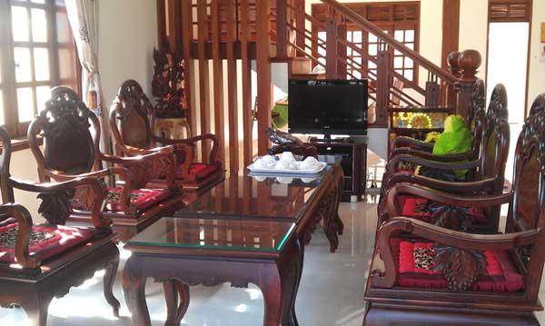 Phòng khách nhà ông Ngọc Gia Lai