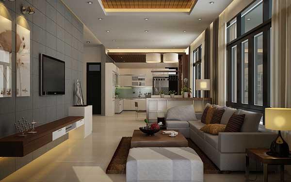 Phòng khách anh Thanh Gia Lai