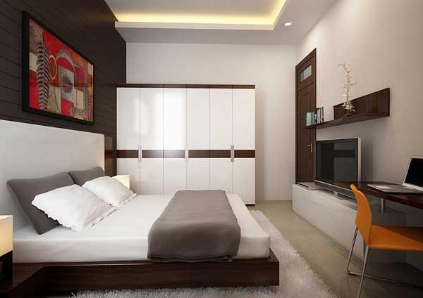 Phòng ngủ nhà ông Trần Văn Tần