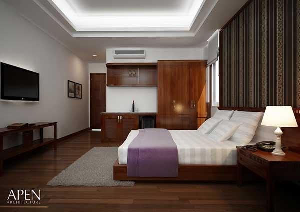 Phòng ngủ khách sạn Royal