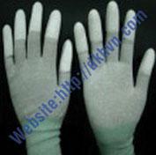 Găng tay phủ nhựa PU đầu ngón