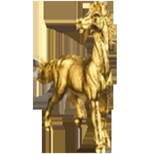 Linh vật mạ vàng