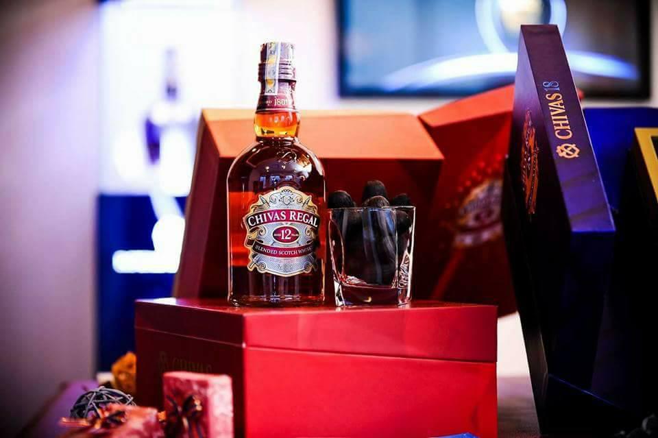 Hộp rượu Chivas quà tết