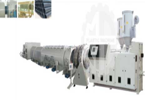 Máy đùn ống HDPE