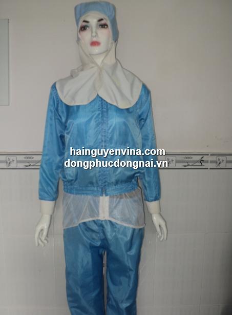 Đồng phục phòng sạch chống tĩnh điện