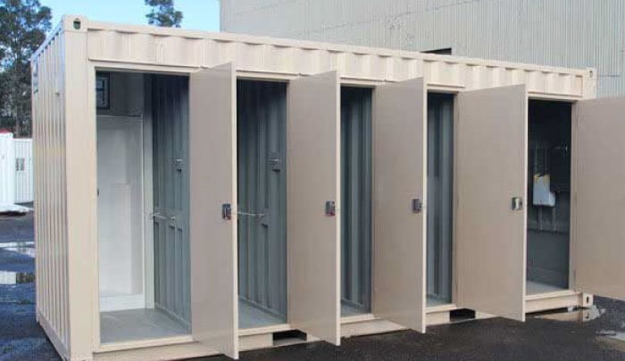 Container toilet 40 feet