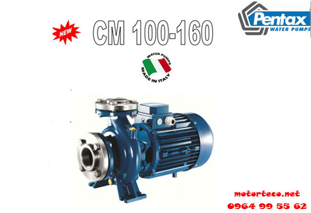 bơm ly tâm công nghiệp pentax-CM100-160