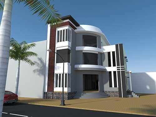 Thiết kế xây dựng nhà phố, biệt thự