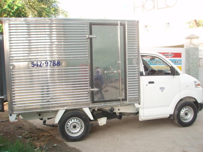 Suzuki Super Carry Pro thùng kín