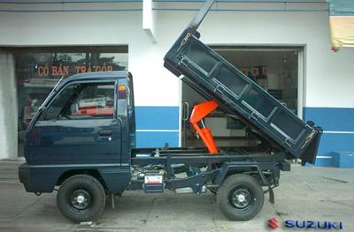 Suzuki Carry Truck - thùng ben tự đỗ
