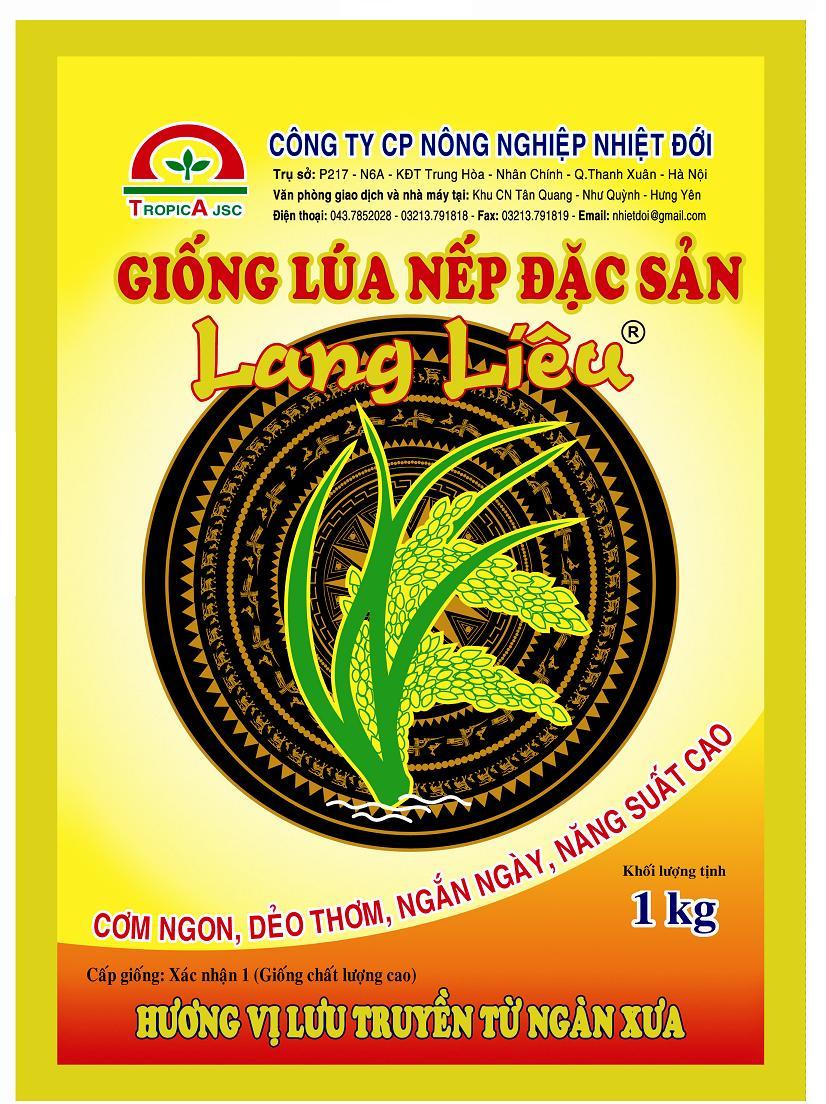 Lúa Nếp Lang Liêu