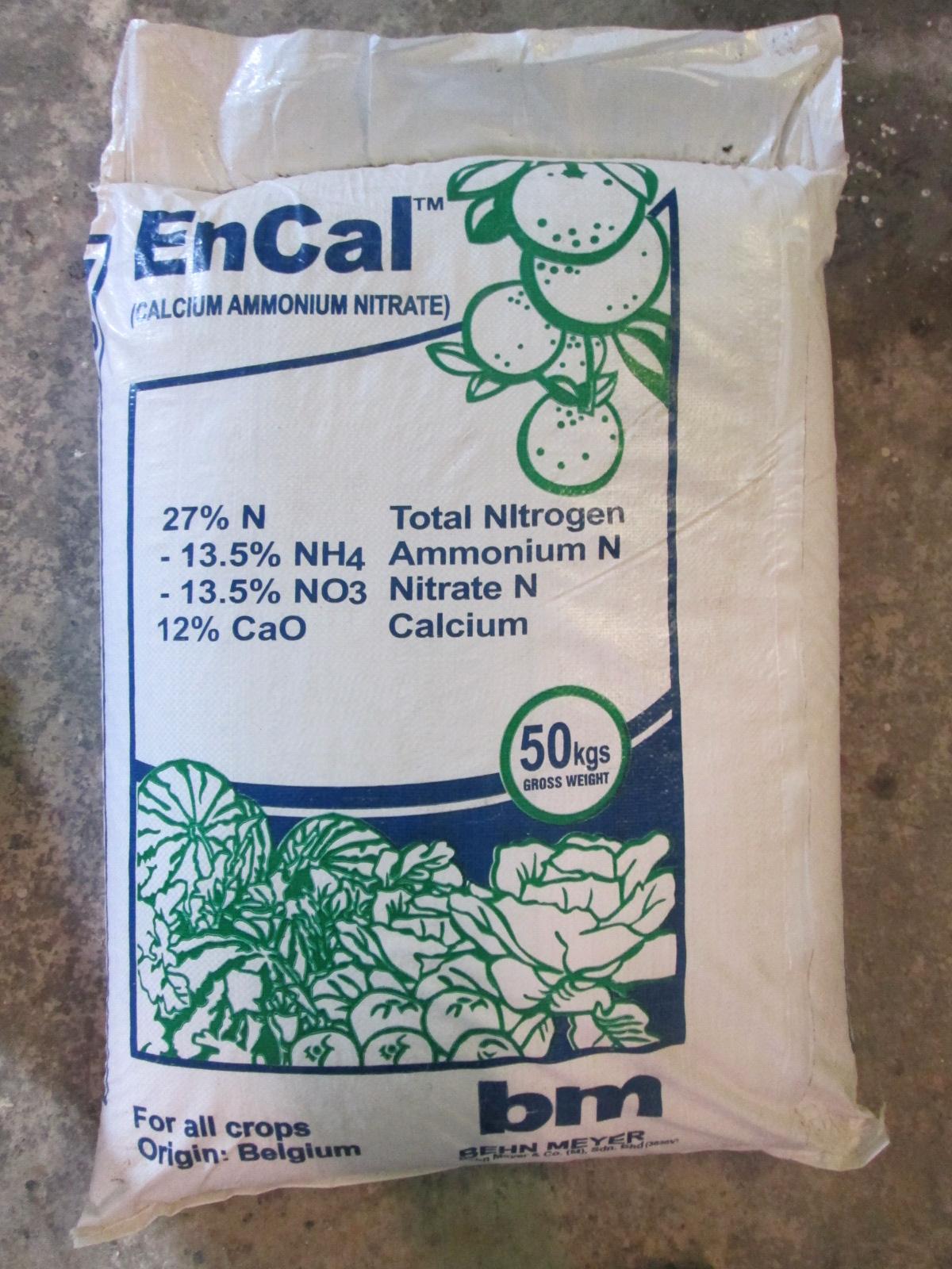 Calcium Ammonium Nitrate (Đạm Canxi)