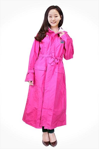 Áo mưa thời trang măng tô