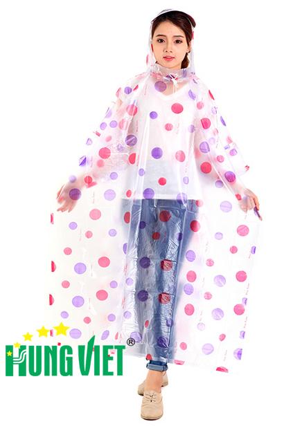Áo mưa PVC trong