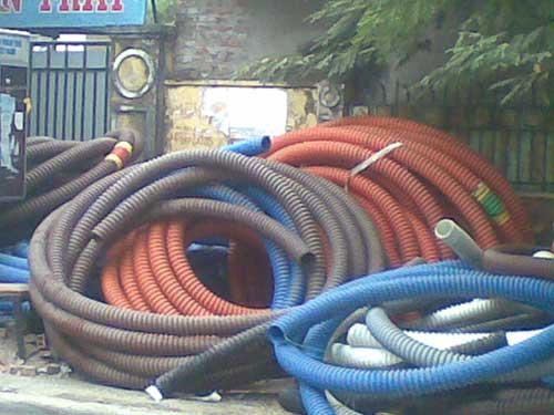 Hạt nhựa HDPE đùn ống các màu