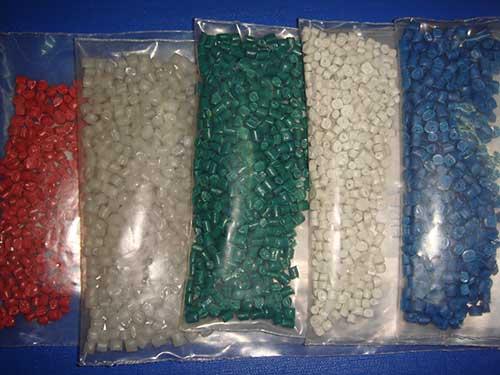 Hạt nhựa HDPE tái sinh các màu Thái Lan