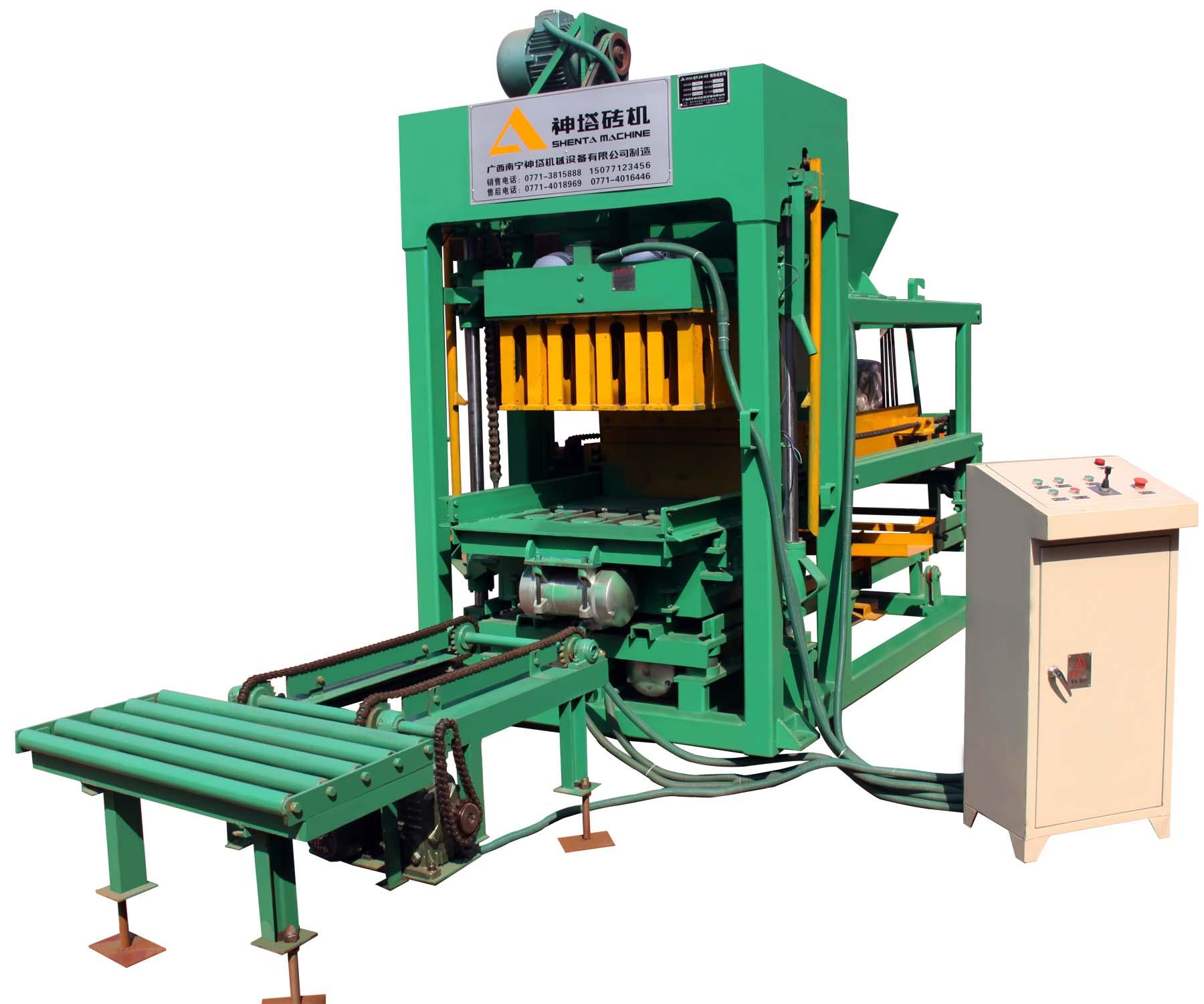 Máy sản xuất gạch QTJ4-40A
