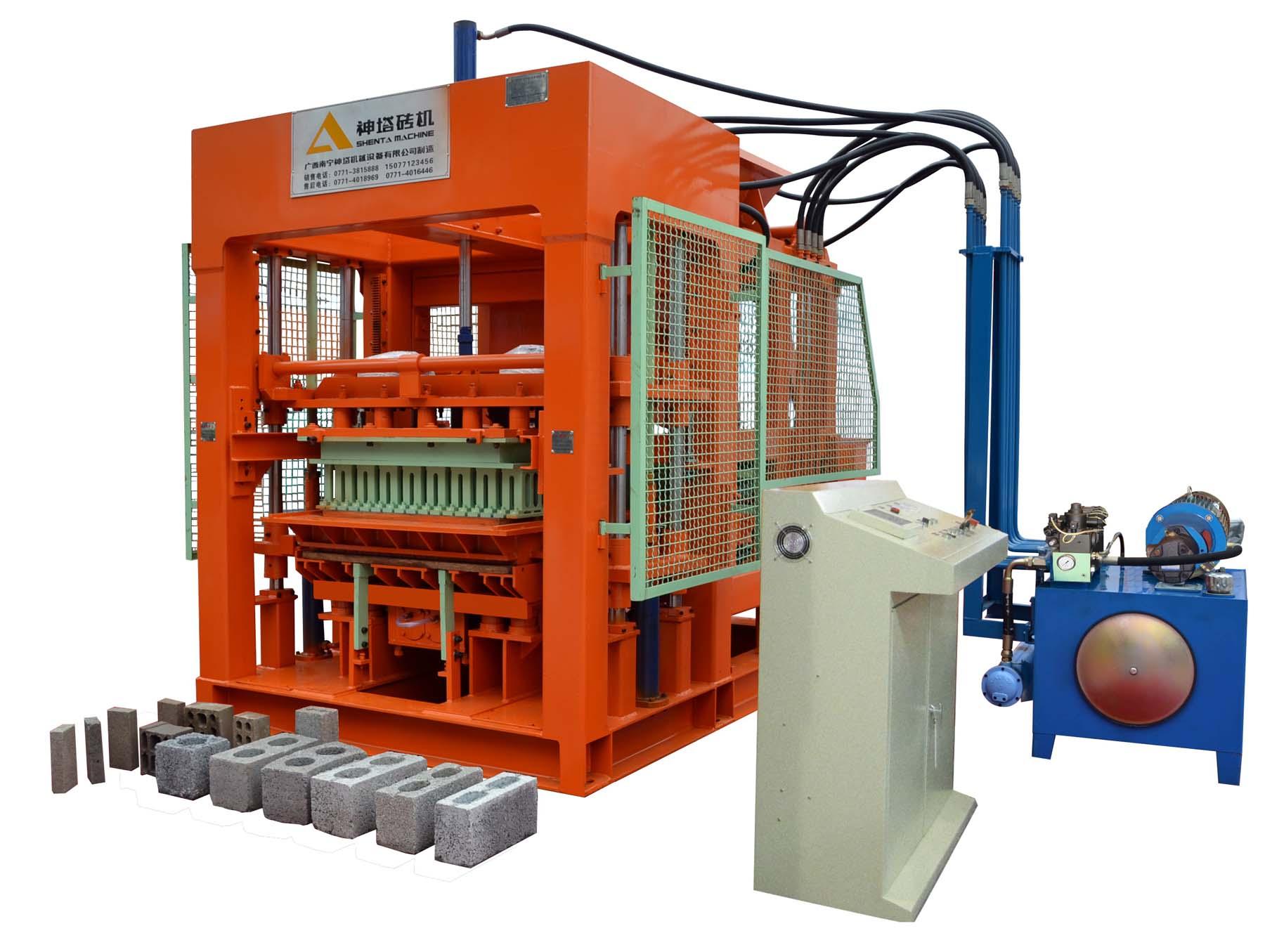 Máy sản xuất gạch QTY10-15A