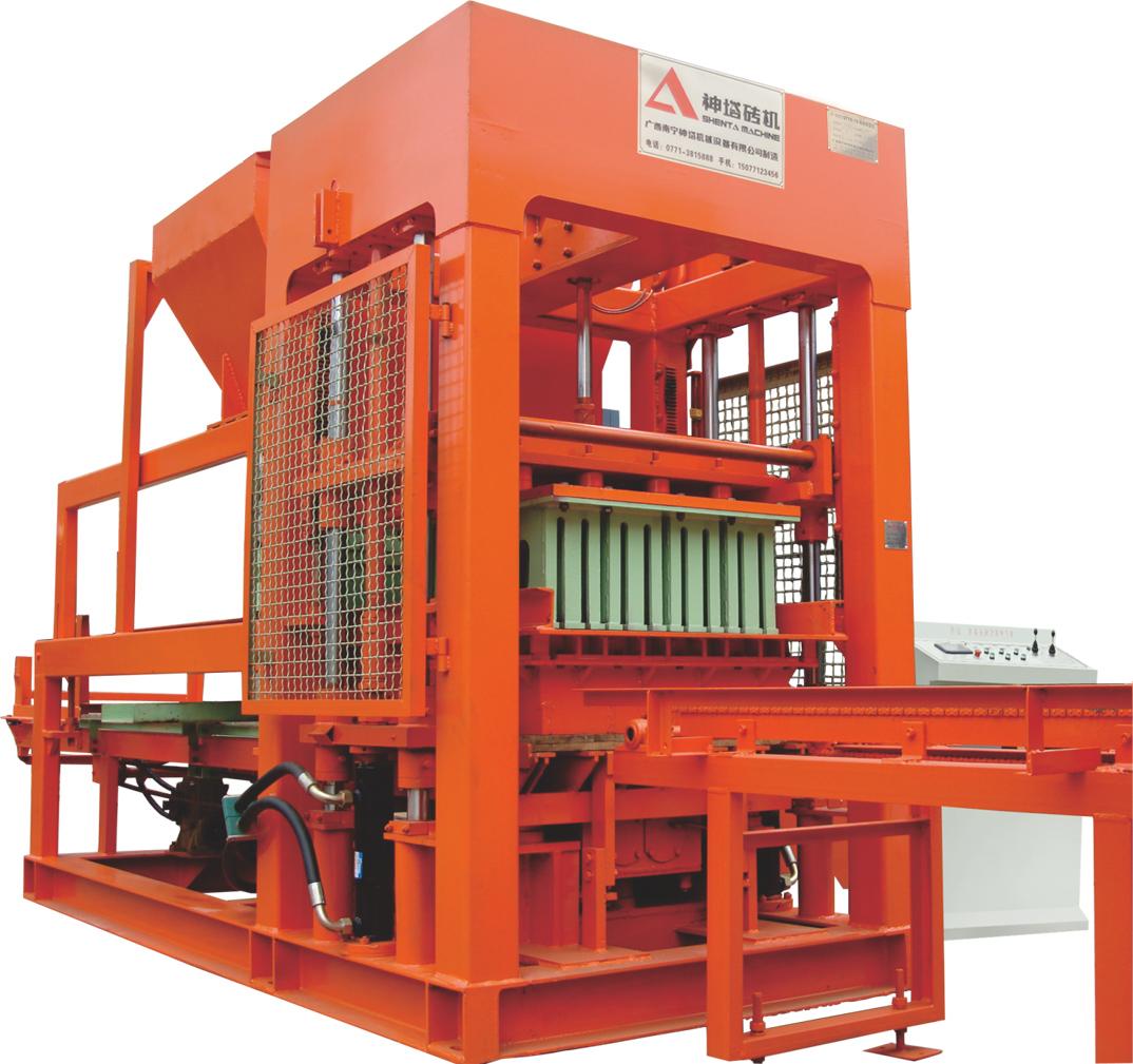 Máy sản xuất gạch QTY8-15