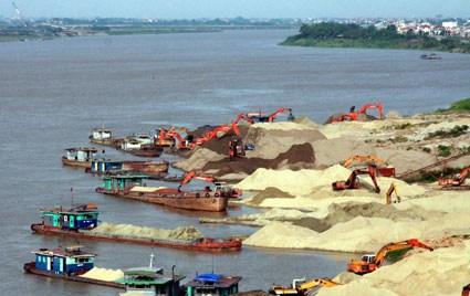 Khai thác cát