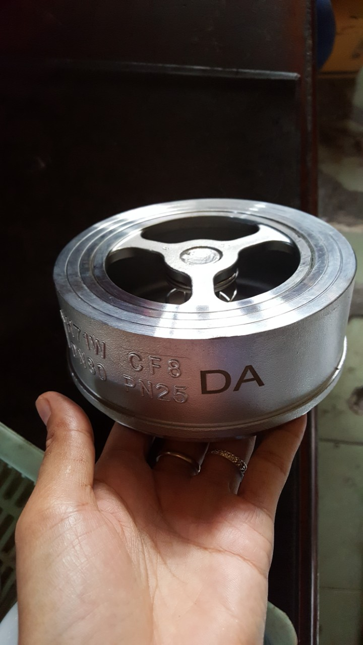 Van 1 chiều đĩa inox 304