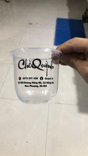 In trên ly nhựa, cốc nhựa