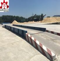 Cân xe tải sàn bê tông