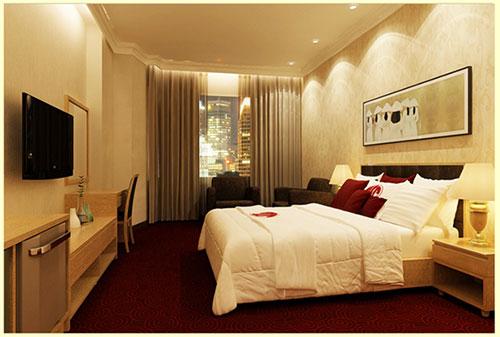 Thiết kế nội thất phòng khách sạn