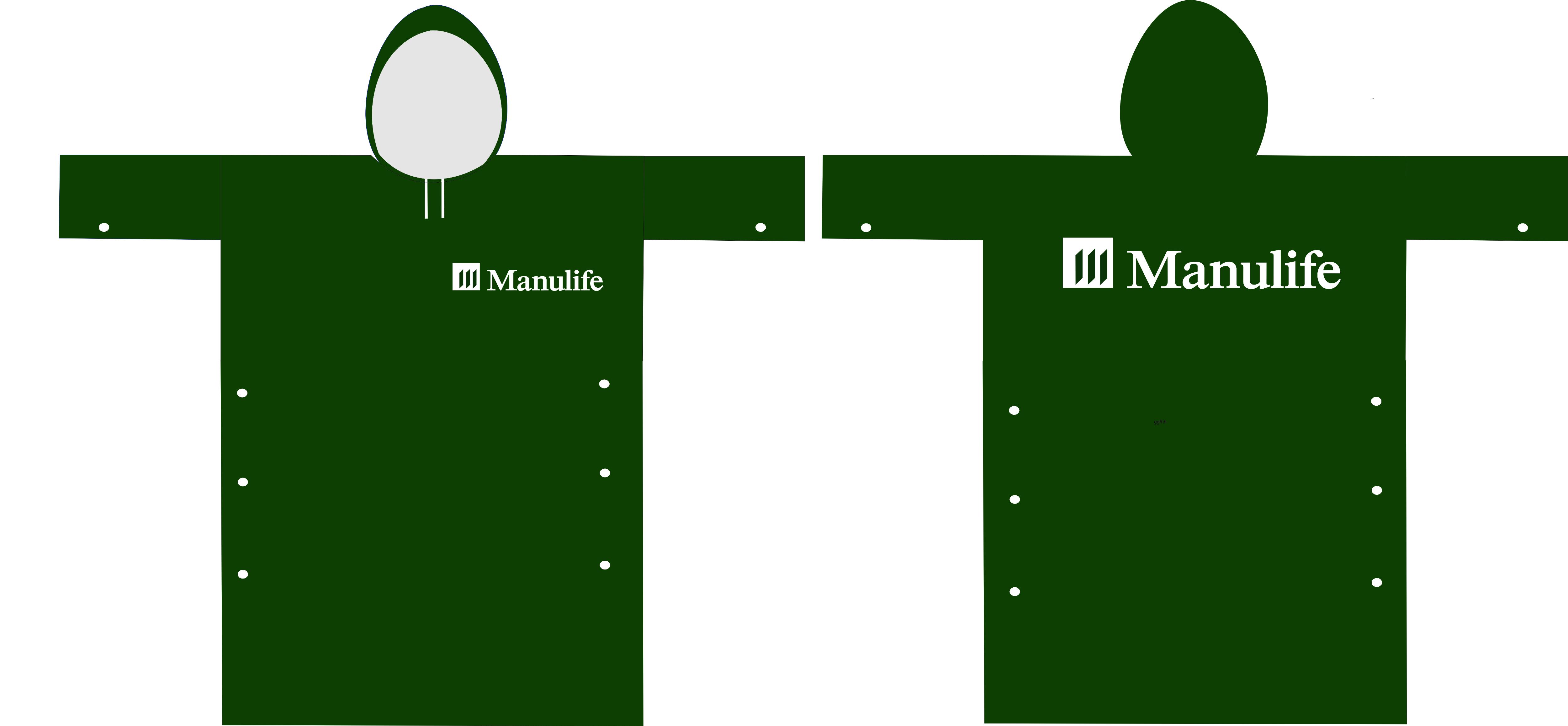 áo mưa Manulife