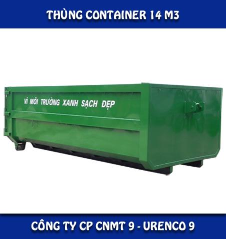 Thùng rác Container
