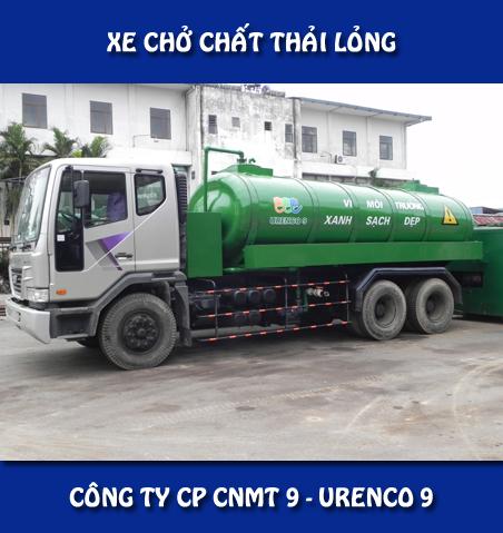 Xe bơm hút chất thải lỏng Daewoo