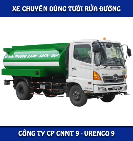 Xe tưới rửa đường