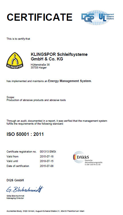 ISO 50001:2001