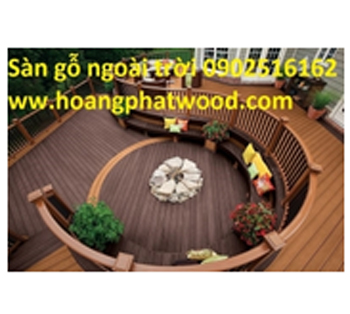 Ván sàn gỗ tự nhiên ngoài trời